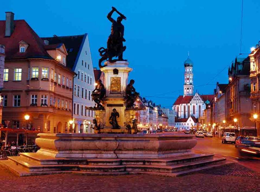 Wasserleben Natur In Augsburg Unesco Welterbe